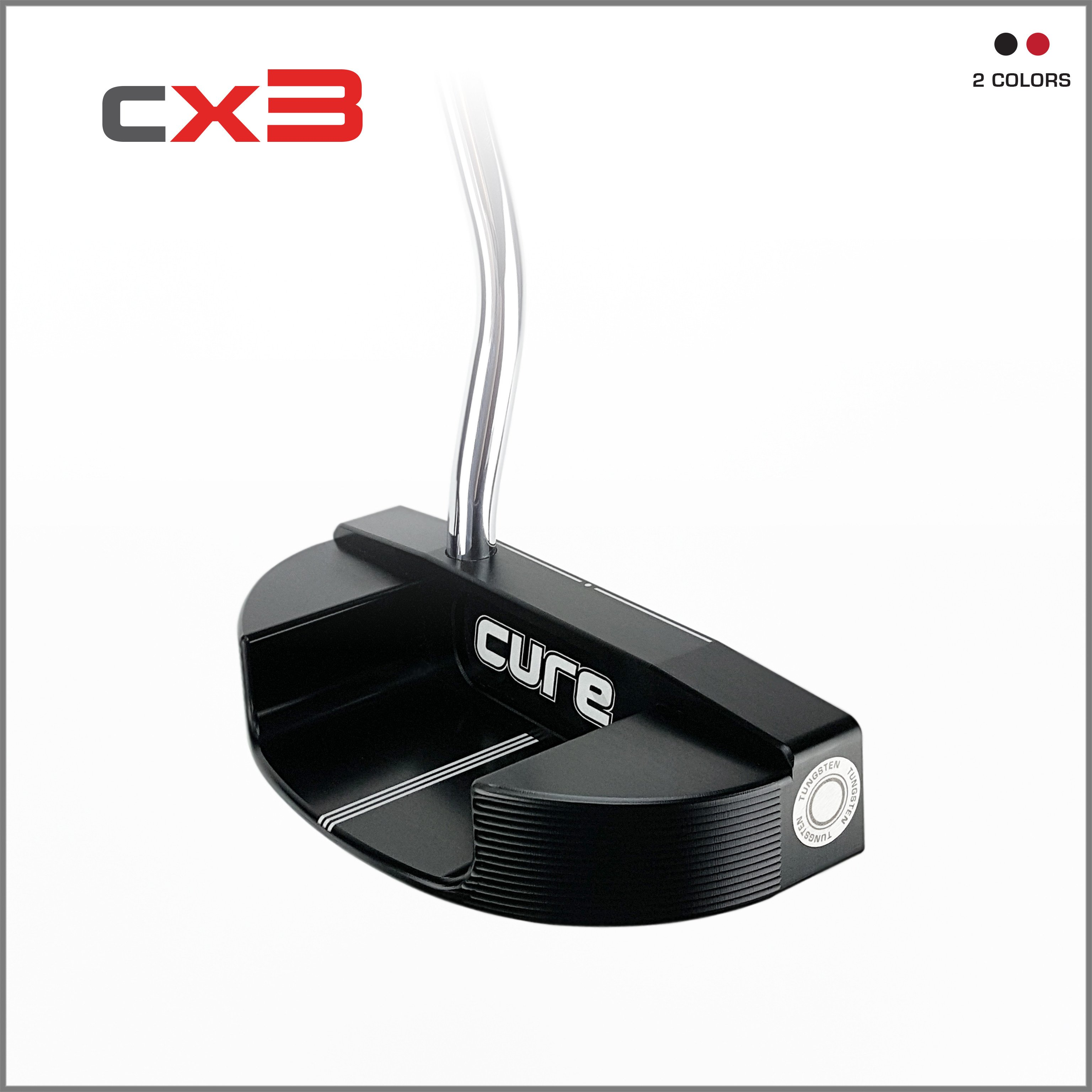 putter, Cure, CX3, oversized putters