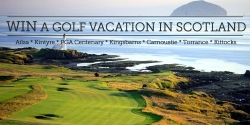Win a 7 Night Scotland Golf Vacation