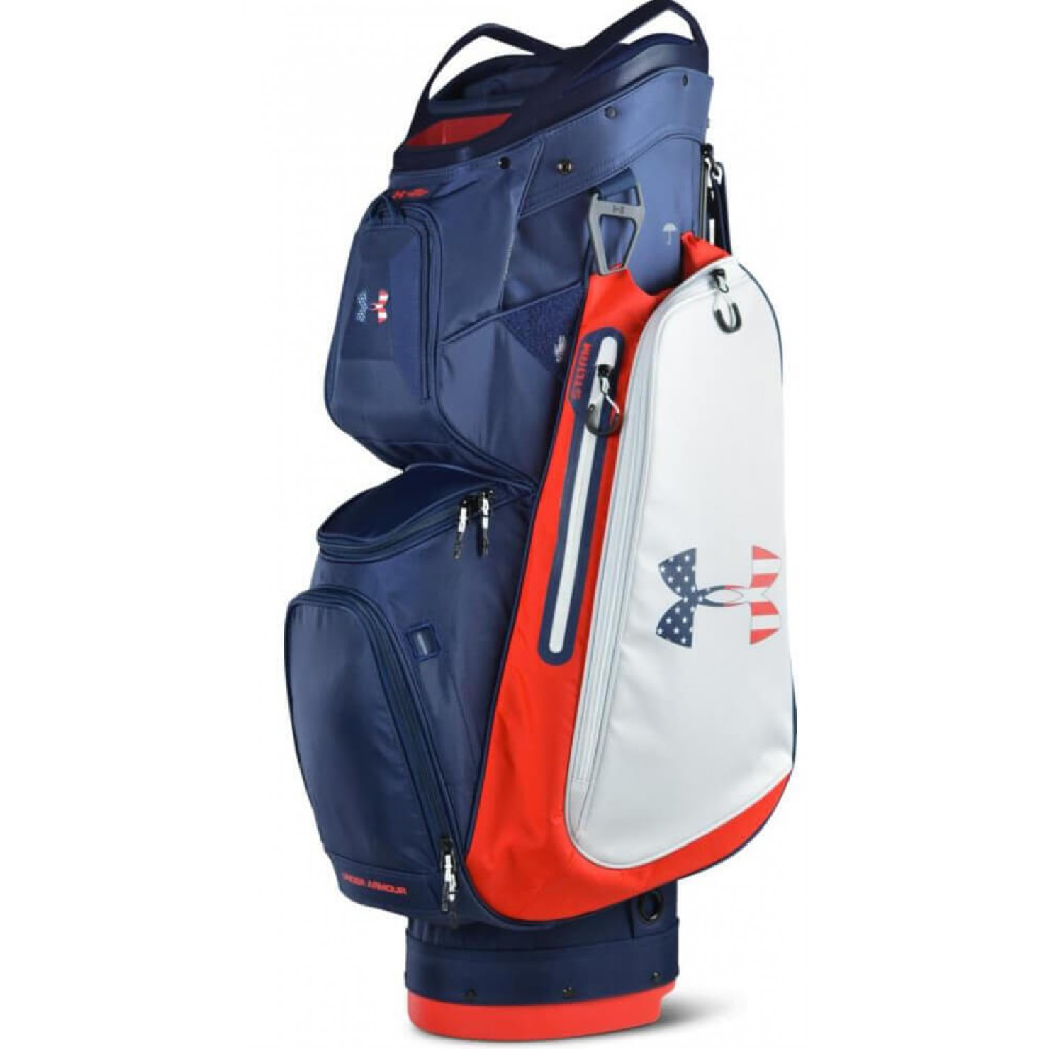 Under Armour, golf bags, cart bags, Armada, Sun Mountain