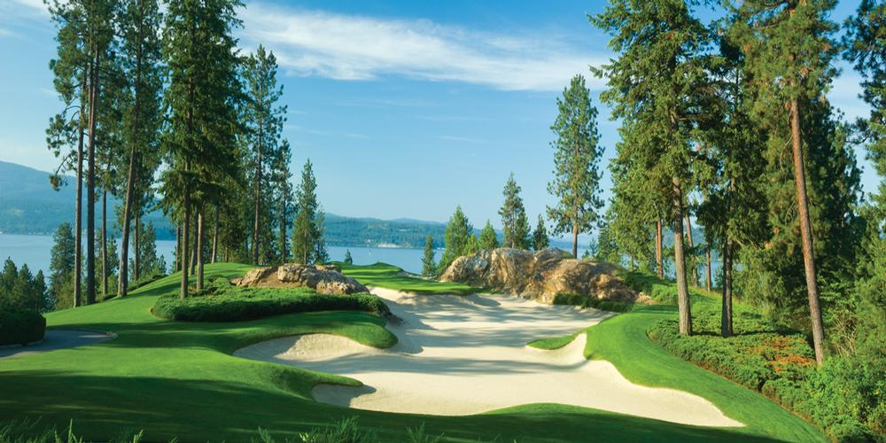 The Coeur d'Alene Resort - Hole #5