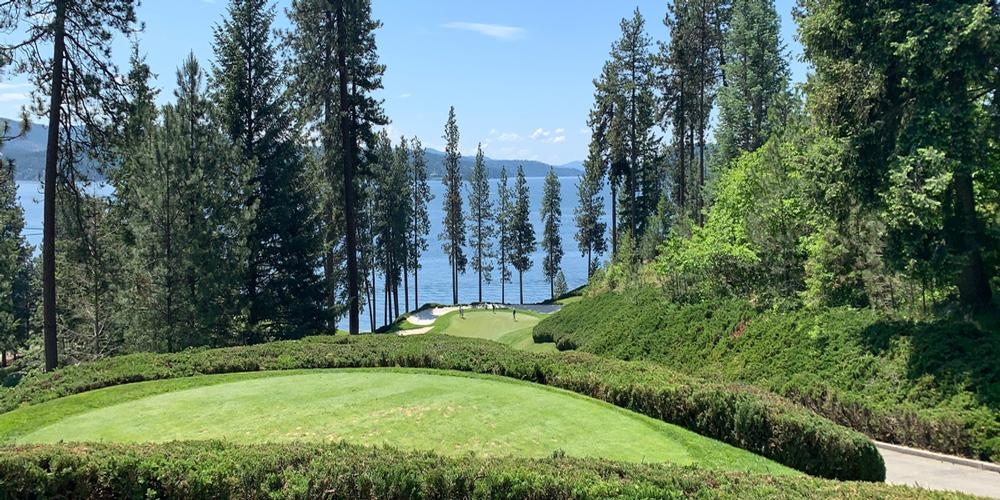 The Coeur d'Alene Resort - Hole #6