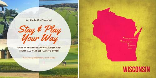 GolfCentralWI.com Website Connects The Best Public and Private Courses in Central Wisconsin