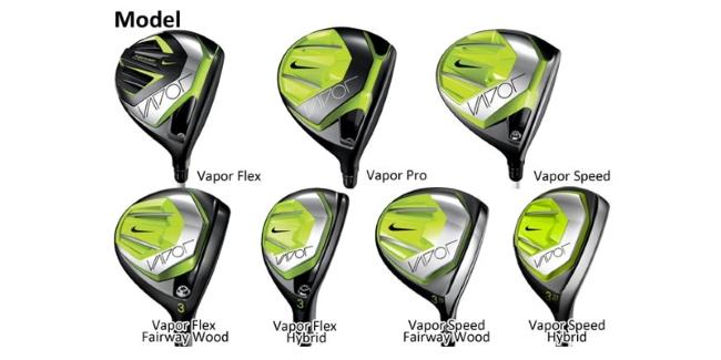 Nike Vapor Driver Woods and Hybrids
