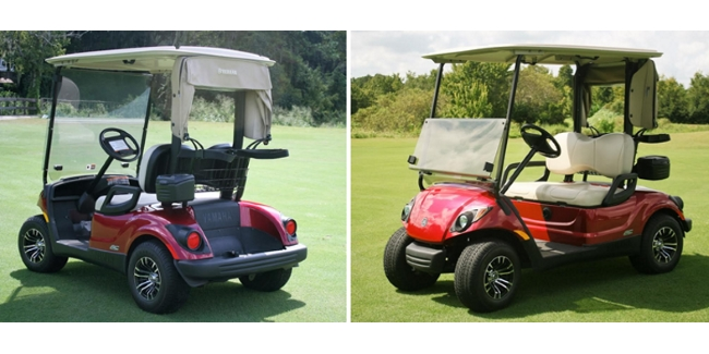 Yamaha Drive AC PTV Golf Cart Review By David Theoret on