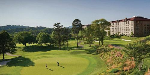 The Omni Grove Park Inn USA golf packages