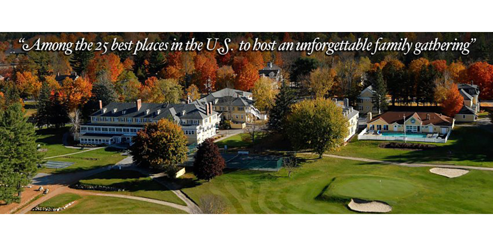Travel Destination - The Bethel Inn Resort - Bethel, Maine