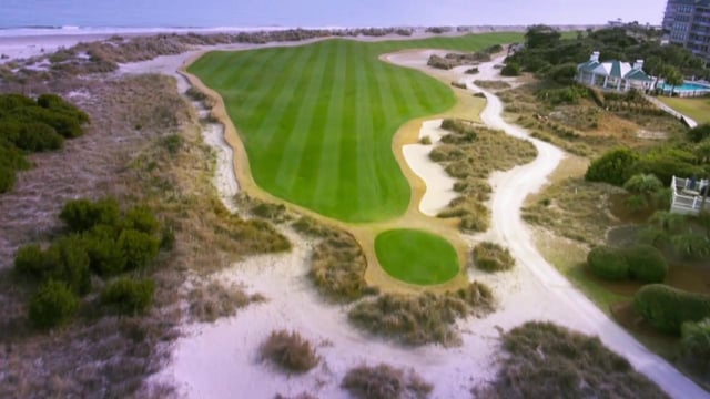 Wild Dunes Golf Course Aerials