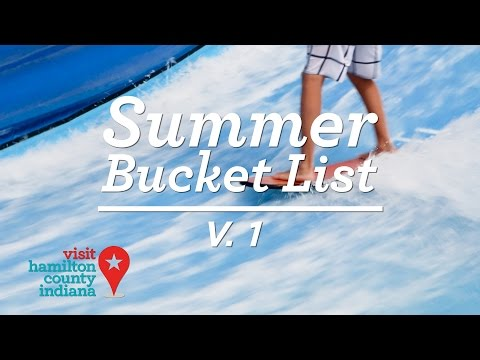 Hamilton County Summer Bucket