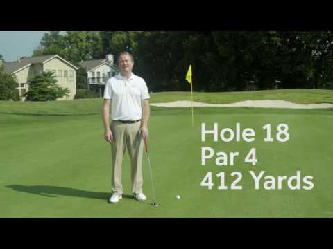 Griffin Gate Golf Tee Time Tips Hole 18